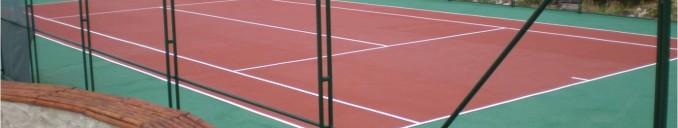 настилки за тенис